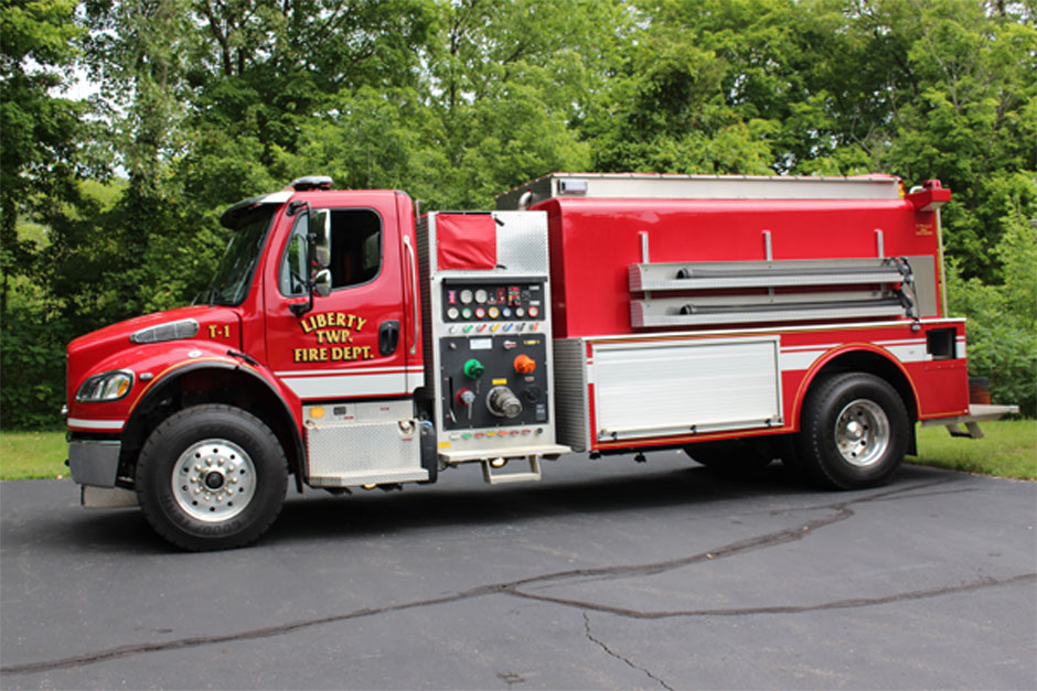 Liberty Township Fire Engine